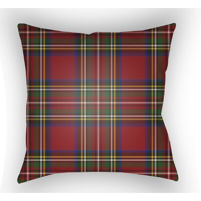 Elizabeth Indoor/Outdoor Throw Pillow Size: 20 H x 20 W x 4 D, Color: Red/Yellow/Blue/Green