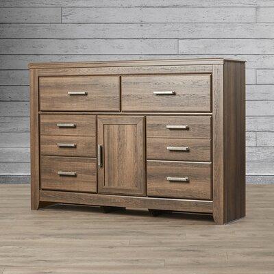 Granite Range 6 Drawer Combo Dresser