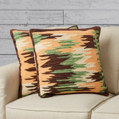 Algonquin Ledge Cotton Throw Pillow