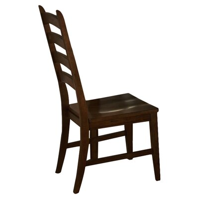 Tantalus Ladderback Solid Wood Dining Chair (Set of 2)