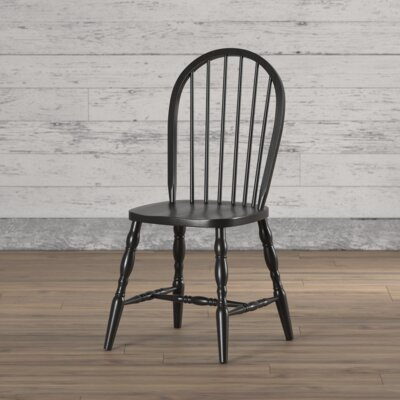 Lamlam Side Chair Finish: Black