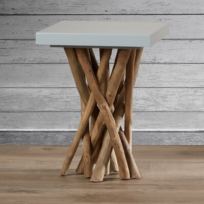 Kieve End Table Color: Gray