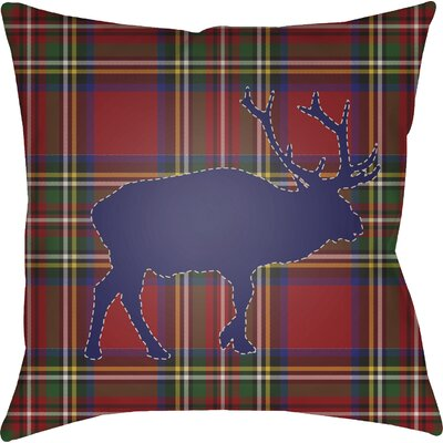 Bighorn Indoor/Outdoor Throw Pillow Size: 20 H x 20 W x 4 D
