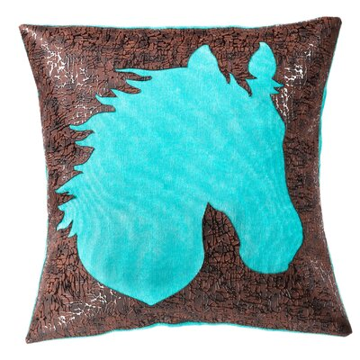 Hantsport Horse Head Throw Pillow