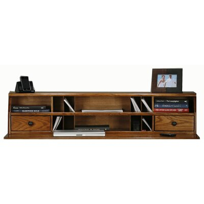 Glastonbury 10.75 H x 50.75 W Desk Hutch Finish: Chocolate Mousse