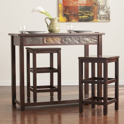 Wolfville 3 Piece Pub Table Set