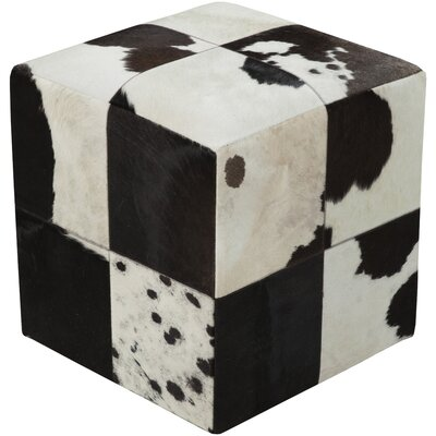 Bucci Hill Leather Pouf
