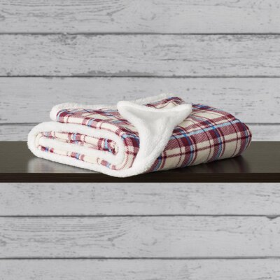 Hlett Plaid Throw Blanket