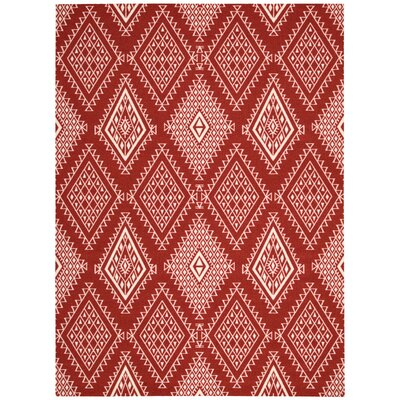Kingfisher Poppy Area Rug Rug Size: 5 x 7