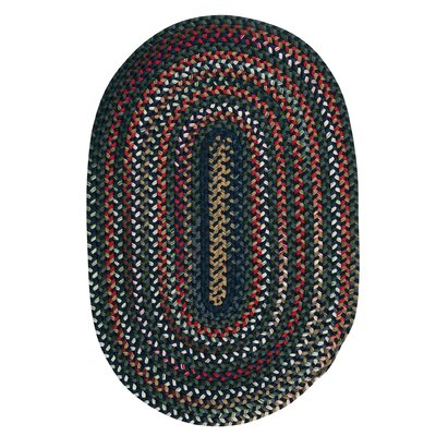 Roxborough Park Baltic Blue Area Rug Rug Size: Oval 3 x 5