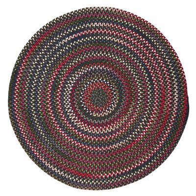 Roxborough Park Saddle Brown Area Rug Rug Size: Round 4