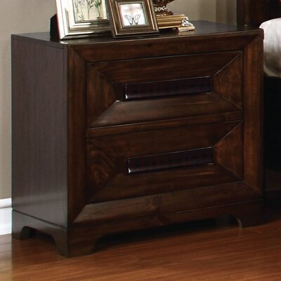 Vineland 2 Drawer Nightstand