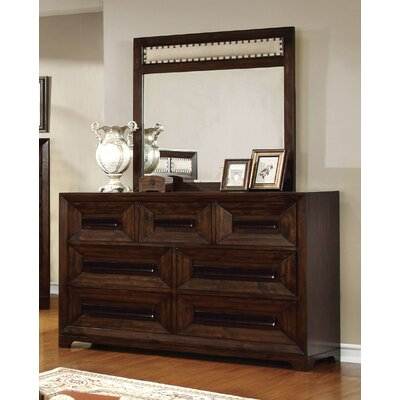 Vineland 7 Drawer Dresser with Mirror