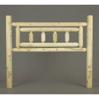 Matoaka Log Open-Frame Headboard Size: King