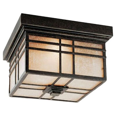 Woodard 2-Light Flush Mount