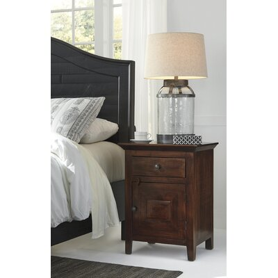Green Mountain Falls 1 Drawer Nightstand