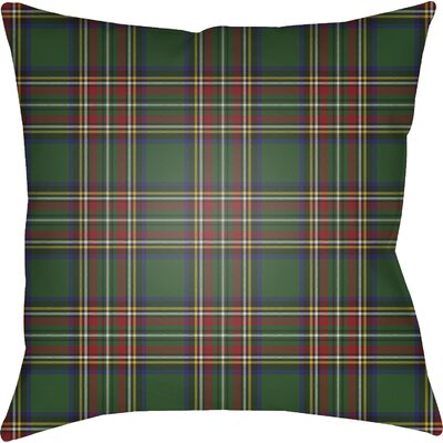 Elizabeth Indoor Outdoor Throw Pillow Color: Green/Yellow/Red/Blue, Size: 20 H x 20 W x 4 D