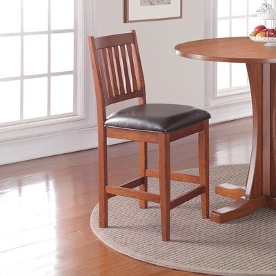 Fort Kent 24 inch Bar Stool with Cushion (Set of 2)