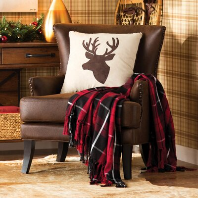 Vinita Wingback Chair Upholstery: Java Brown