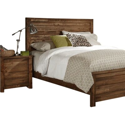Bear Springs Panel Headboard Size: King