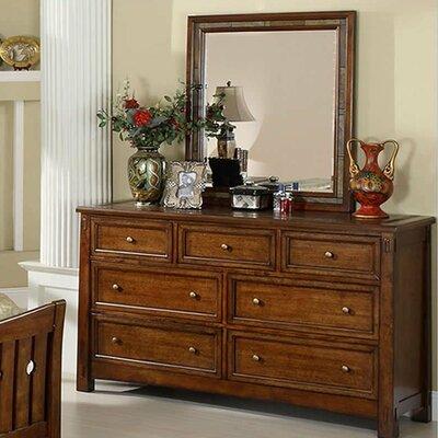Rexford 7 Drawer Dresser with Mirror