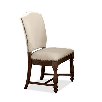 Baddeck Solid Walnut Upholstered Dining Chair (Set of 2)