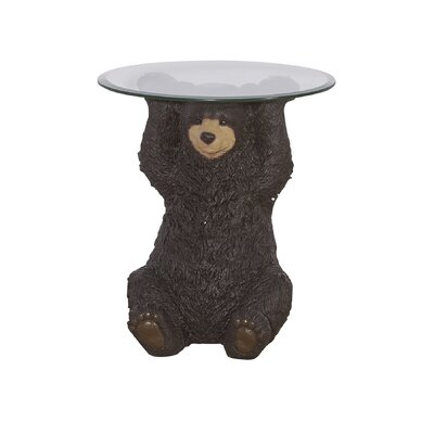 South Fork Barney Bear End Table
