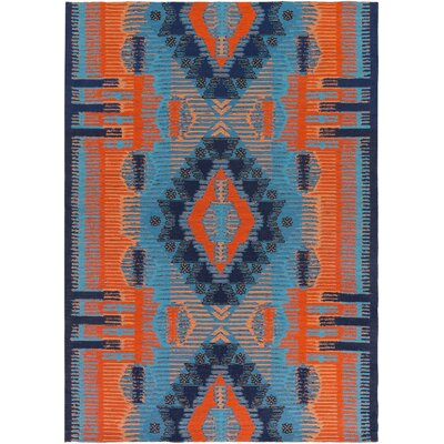Blue Indoor/Outdoor Area Rug Rug Size: Runner 26 x 8
