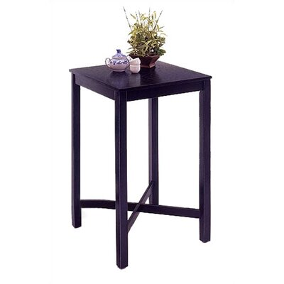 Greenwood Pub Table Finish: Black