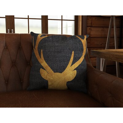 Ikonolexi Mapleton Deer 4 Throw Pillow Size: 18 H x 18 W x 2 D