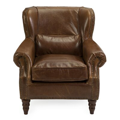 Cedaredge Leather Club Chair