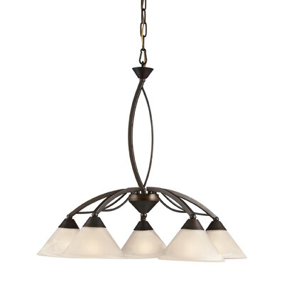 Ringwood 5-Light Shaded Chandelier