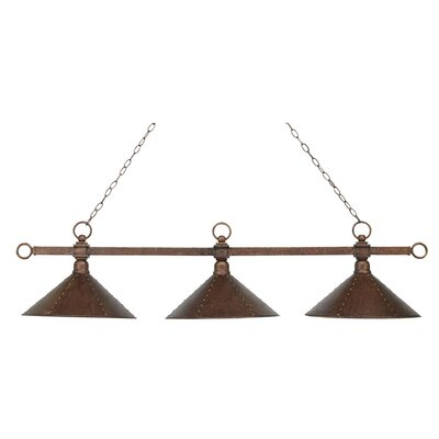 Morgan Heights 3-Light Pool Table Light