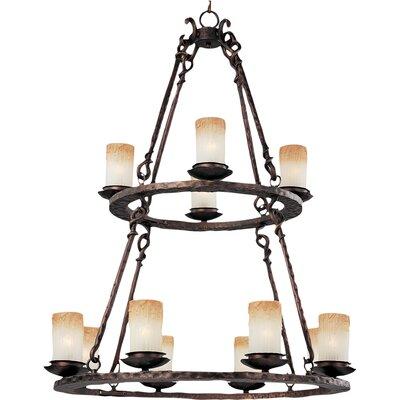 Rowan 12-Light Shaded Chandelier