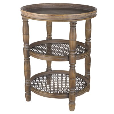 Deer Trail Round End Table