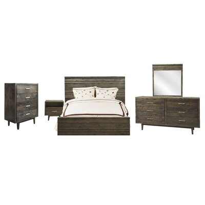 Calavar Panel Customizable Bedroom Set