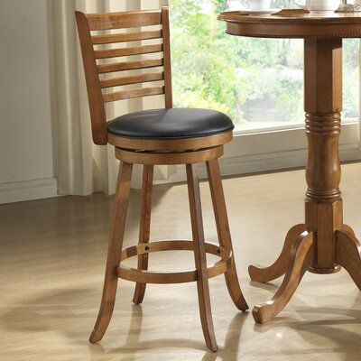 Clarno 24 Swivel Bar Stool with Cushion (Set of 2)
