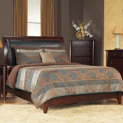 Hudson Upholstered Storage Platform Bed Size: California King