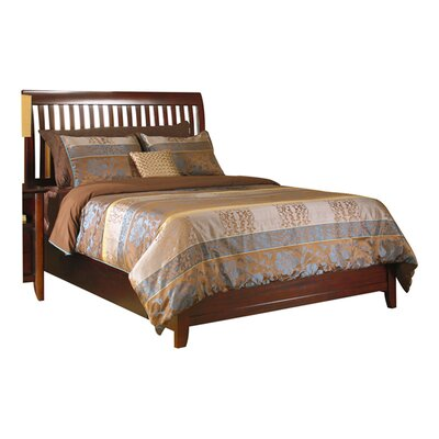 Hudson Panel Bed Size: Queen, Finish: Coco