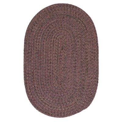 Abey Plum Purple Area Rug Rug Size: Oval 8 x 11