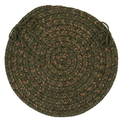 Abey Dining Chair Cushion Color: Olive
