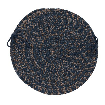 Abey Dining Chair Cushion Color: Navy