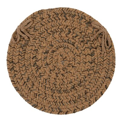 Abey Dining Chair Cushion Color: Mocha