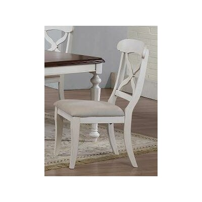 Lockwood Side Chair Finish: Antique White