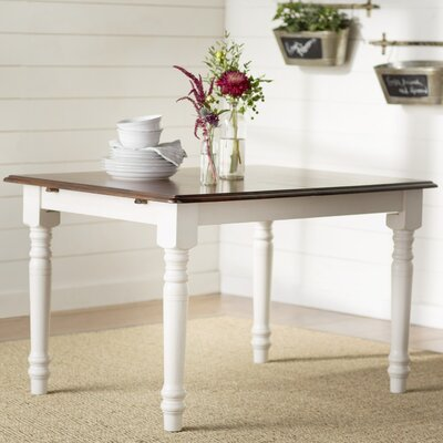 Lockwood Dining Table Base Finish: Antique White