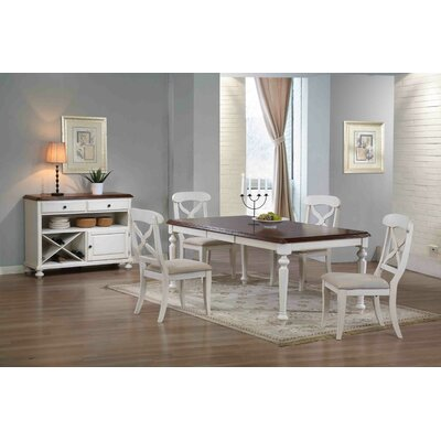 Lockwood Butterfly Leaf 6 Piece Dining Set