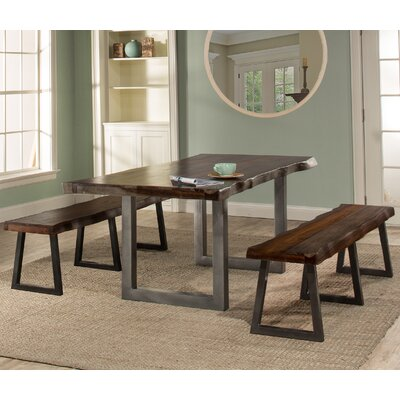 Okmulgee 3 Piece Dining Set