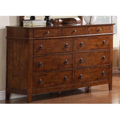 Del City 9 Drawer Standard Dresser