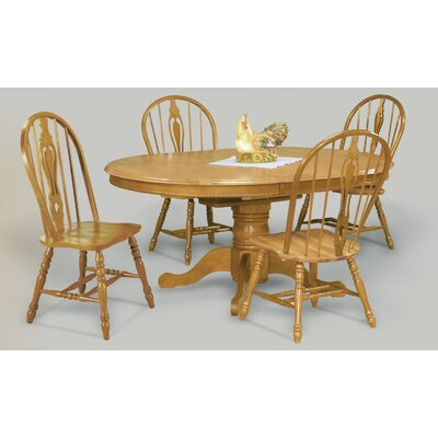 Medford 5 Piece Dining Set Finish: Light Oak