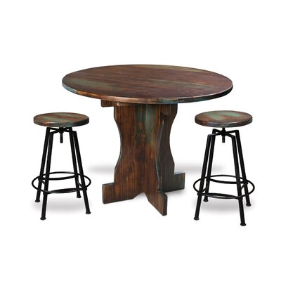 Hillrose 3 Piece 37 Pub Table Set